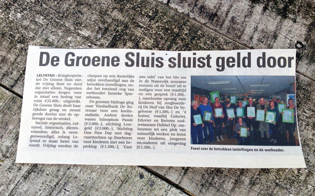 Groene Sluis sponsort 4Fusion